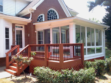 building a sunroom in Marietta
