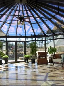very nice conservatory