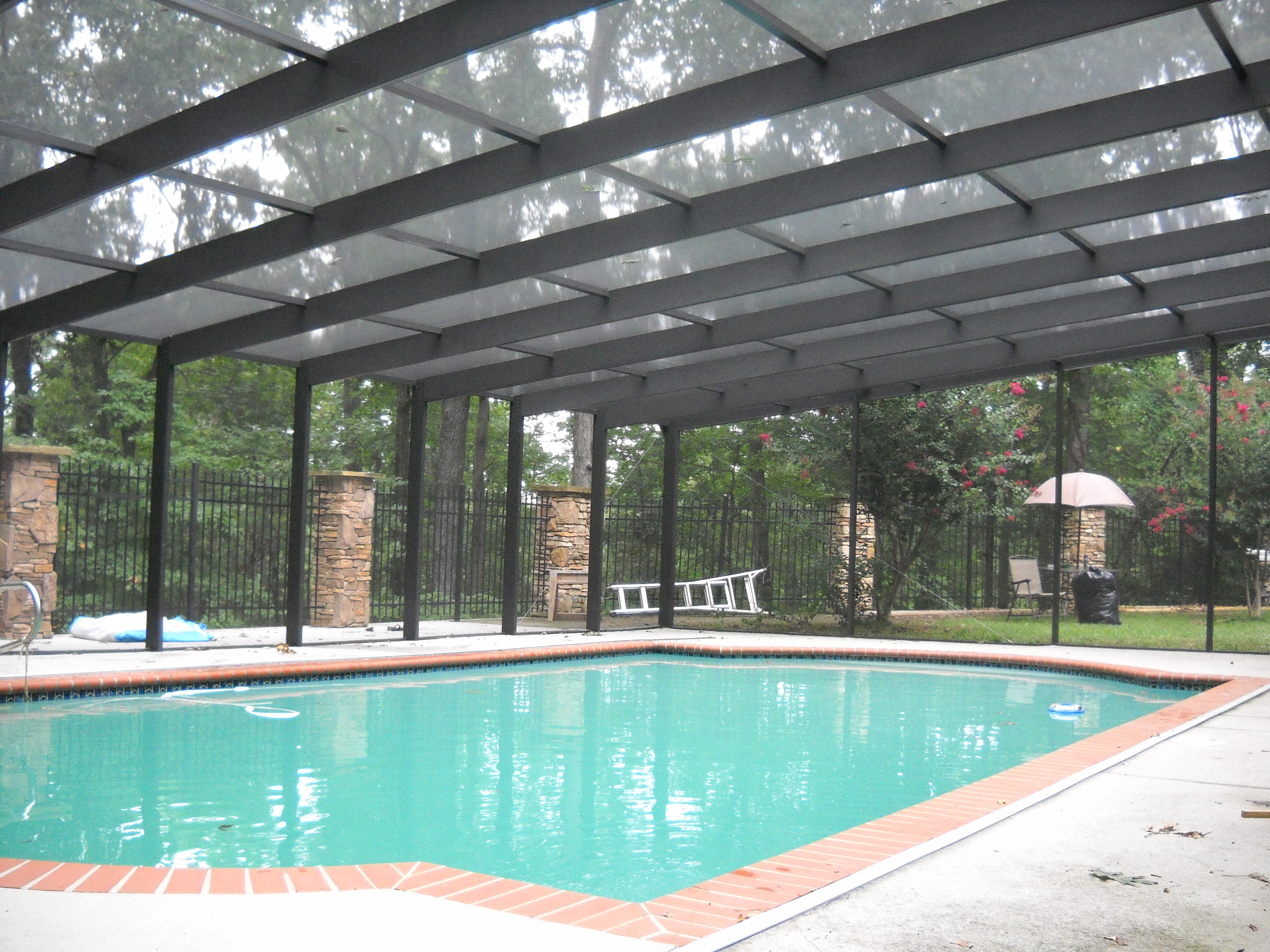 Pool Enclosures What Type Of Screens To Use Dc Enclosures Blog