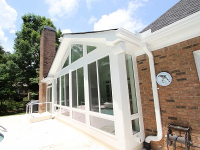 Johns Creek Conventional Gable Sunroom