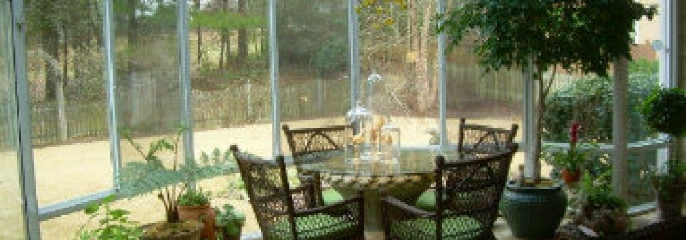 Patio Enclosures Can Help Protect Delicate Container Plants From Insects