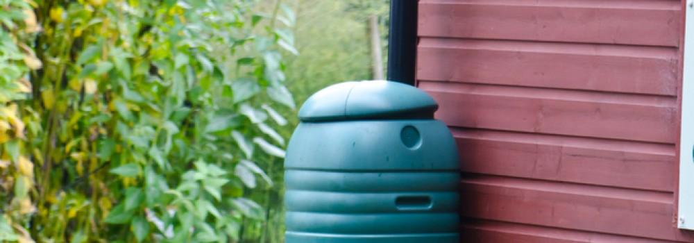 Quick Home Upgrade: Rain Barrels